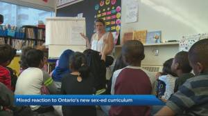 Mixed reaction to Ontario's new sex-ed curriculum