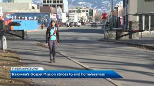 Strides to End Homelessness fundraiser aids Kelowna's Gospel Mission (01:13)