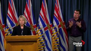 B.C. health officials report 145 new COVID-19 cases, for a total of 617