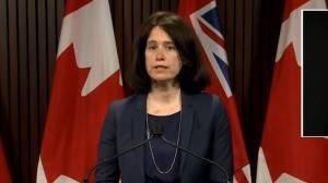 Coronavirus: Ontario health officials explain COVID-19 test being used in pharmacies