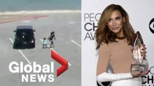 "Footage shows ""Glee"" actress Naya Rivera, son boarding boat hours before her disappearance"