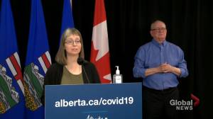 Alberta announces walk-in AstraZeneca COVID-19 vaccinations (02:52)