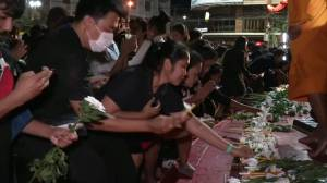 Thailand mall shooting: Thousands attend vigil for victims