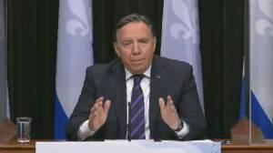 Coronavirus: Quebec premier considering closure of schools amid rising COVID-19 cases (01:12)