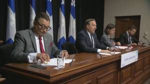 Coronavirus: Premier Legault provides daily update on situation in Quebec