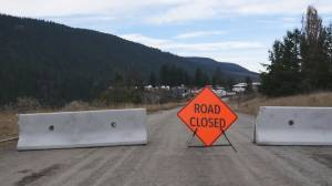 Landslide in Williams Lake, B.C. forces evacuations (01:33)