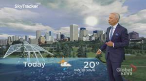 Edmonton afternoon weather forecast: Monday, June 15, 2020