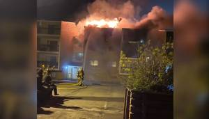St. Albert apartment building fire sends 4 people to hospital