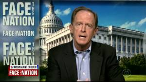 U.S. election: Republican Pennsylvania Senator Toomey talks about possible vote recount (01:25)