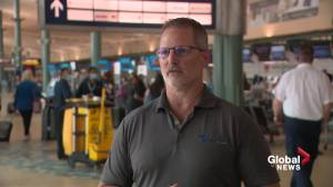 Possible border reopening welcome news for Edmonton International Airport, manufacturing sector (01:59)