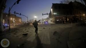 Nashville explosion: Police release body camera footage showing moments after blast (00:59)