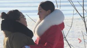 Indigenous TikTok star in Montreal keeping her culture alive through music (02:17)