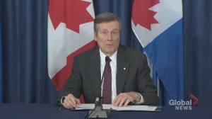 Nova Scotia shooting: Toronto mayor expresses condolences to victim's families