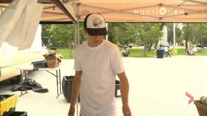 Vendors at the Regina Farmer's Market feeling impacts of drought (01:42)