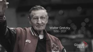 Brantford, Ont., mourns the loss of Walter Gretzky (02:18)