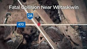 Woman killed, child seriously injured in central Alberta collision involving train (00:32)