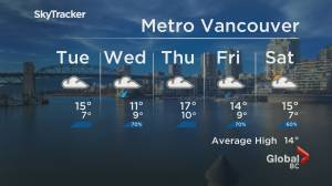 B.C. evening weather forecast: April 26 (02:03)