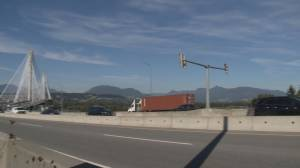 Dramatic spike in traffic on Port Mann bridge