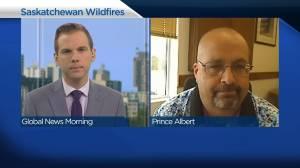 Wildfires in Saskatchewan (02:31)