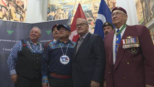 Ottawa issues multi-million-dollar apology to Métis veterans of Second World War | Watch News Videos Online
