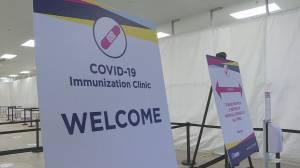 Toronto opens 3 mass COVID-19 vaccination clinics (02:25)