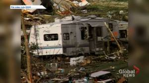 'Just trying to search for family.' Pine Lake tornado survivors relive twister's terror 20 years later (02:21)