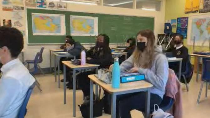Click to play video: Schools across Canada adapt amid Delta variant surge