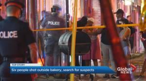 Brazen shooting at Toronto bakery leaves 6 injured
