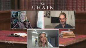 Checking in with stars of the Netflix show 'The Chair' (03:52)