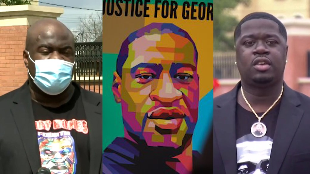 Click to play video: 'George Floyd's family reacts to federal charges against Derek Chauvin, former officers'