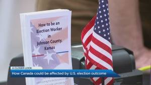 Civil unrest a possibility of U.S. election outcome, expert says (04:26)