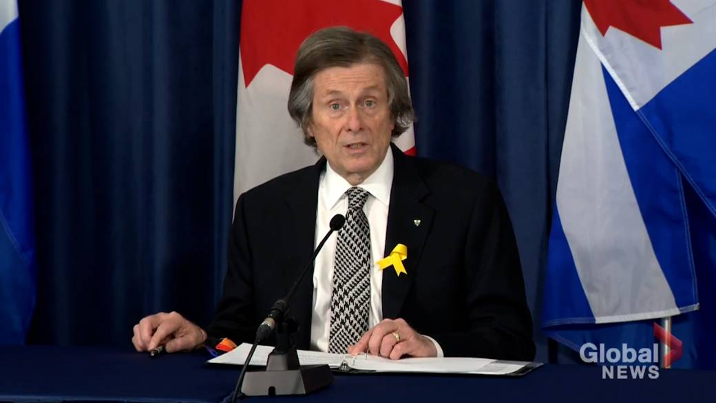 Click to play video: 'More than 60 per cent of eligible Torontonians have received 1st dose of COVID-19 vaccine: Tory'