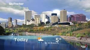 Edmonton early morning weather forecast: Friday, November 1, 2019