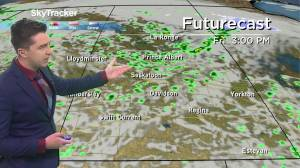 Play video: Risk of thunderstorms: May 13 Saskatchewan weather outlook
