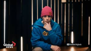 Justin Bieber releases trailer for new YouTube series (01:52)