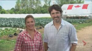 Justin Trudeau, Sophie Grégoire Trudeau deliver Canada Day message