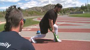 Kelowna's Andrew Becker gets drafted by the Montreal Alouettes (01:55)