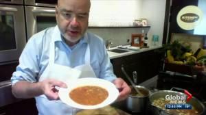 Eat your veggies: Making garden harvest soup with chef Brad Smoliak (06:22)