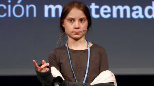 Climate activist Greta Thunberg says 'our voices' heard but not translating into action