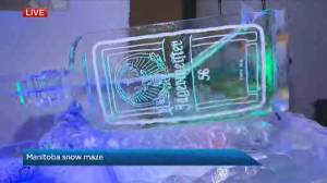 Manitoba Snow Maze introduces a snow bar
