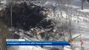 Residence explodes in Morin-Heights: Sûreté du Québec (00:24)