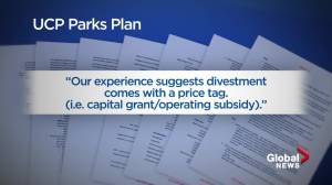 Documents reveal doubts on Alberta plans to close, deregulate parks (01:54)