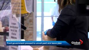 Wait for details continues for Ontario's potential paid sick leave plan (03:16)