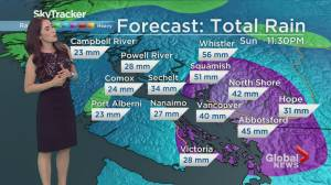 B.C. noon forecast Sept. 14
