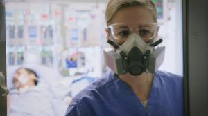 Behind the scenes: Despite dropping numbers, B.C. COVID hospital wards still busy (02:35)