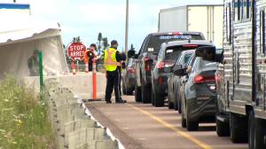 Many not being screened at N.B. border due to wait time complaints