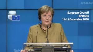Coronavirus: EU agrees vaccines should arrive simultaneously in member states, Merkel says (01:33)