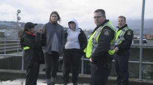 Anti-pipeline protests stop West Coast Express