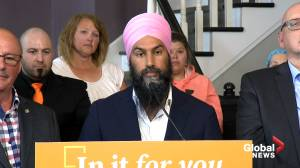 Federal Election 2019: Singh apologizes for not visiting New Brunswick earlier