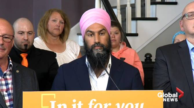 Singh apologizes for not visiting N.B. sooner, insists he takes province seriously